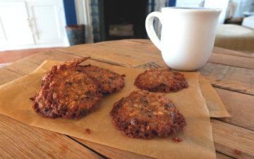 Cacao Nib Tea Cookies